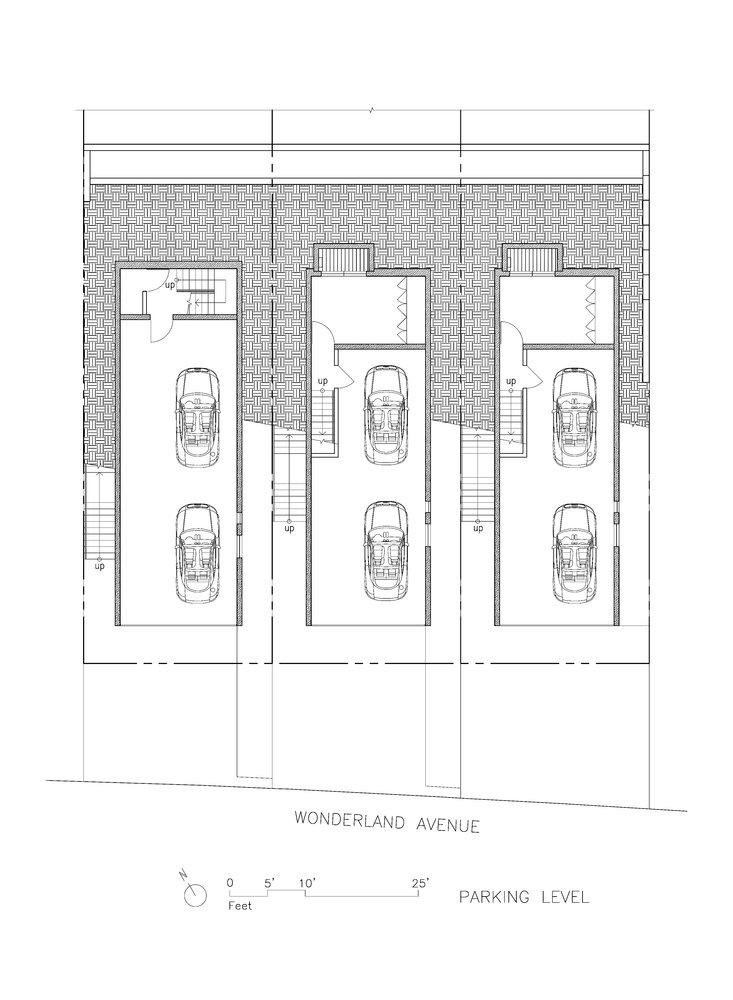 Wonderland Houses garage plan