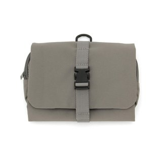 Muji Hanging Case With Detachable Pouch - Gray