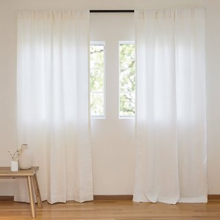 Parachute Washed Linen Curtain