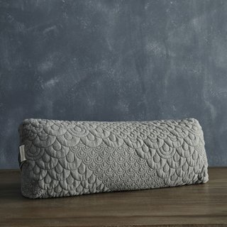 Brentwood Home Buckwheat Yoga Bolster Pillow