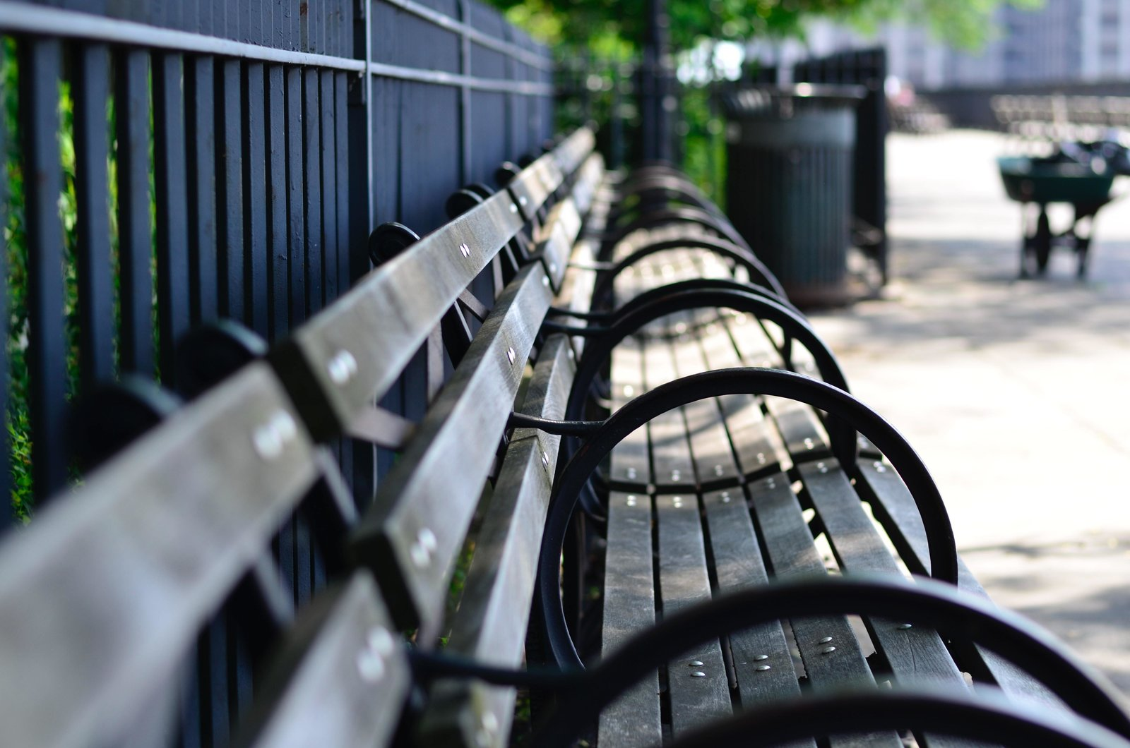 Photo 1 of 9 in In Times of Crisis, Hostile Architecture Poses a Bigger Threat Than Ever