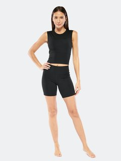 Electric Yoga Mid Rise Gym Shorts