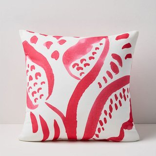 West Elm Outdoor Leaf Sketch Pillow