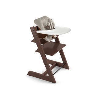 Stokke Tripp Trapp Chair, Baby Set, Cushion, & Tray Set