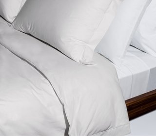 Snowe Percale Duvet Cover