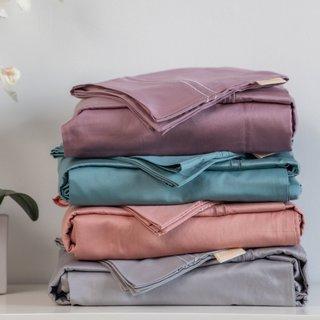 YaYa & Co. Calla Organic Cotton Bedding Set - 400TC