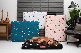 Laylo Terrazzo Dog Bed
