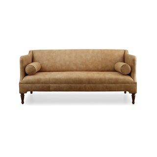 Mitchell Gold + Bob Williams Bennett Leather Sofa