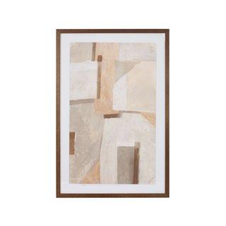 Mitchell Gold + Bob Williams Earthen Shapes Art