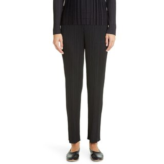 Pleats Please Issey Miyake Pleated Ankle Pants