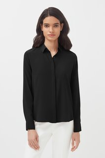 Cuyana Silk Button Down Shirt
