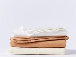 Coyuchi Organic Relaxed Percale Sheets