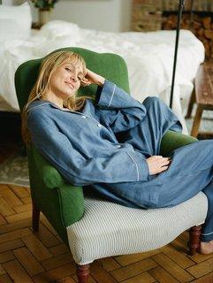 Piglet Linen Pajama Trouser Set