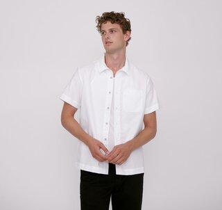 Organic Basics Organic Cotton Oxford Short-Sleeved Shirt