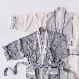 House No. 23 Lightweight Organic Cotton Robe