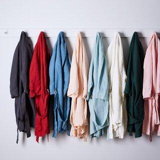 Celina Mancurti Linen Robe