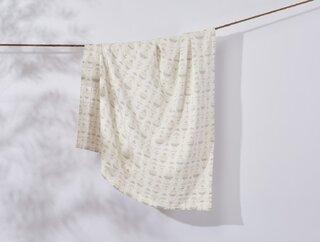 Coyuchi Monrovia Organic Matelasse Blanket