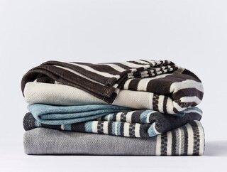 Coyuchi Mariposa Supersoft Organic Cotton Blanket