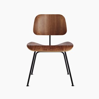 Herman Miller Eames Molded Plywood Dining Chair Metal Base (DCM)