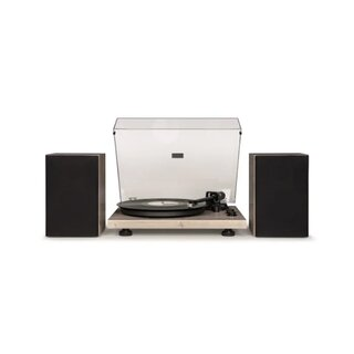 Crosley C62 Turntable & Speaker Shelf System
