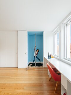 A Hidden Fireman's Pole Is Just One of This Portuguese Home's Many Delights