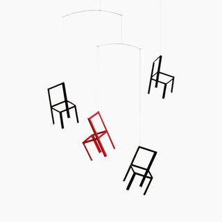 Ole Flensted Flying Chairs Mobile