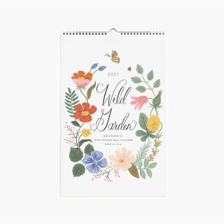 Rifle Paper Co. Wild Garden 2021 Wall Calendar