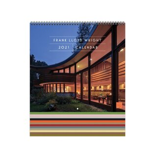 Galison Frank Lloyd Wright 2021 Tiered Wall Calendar
