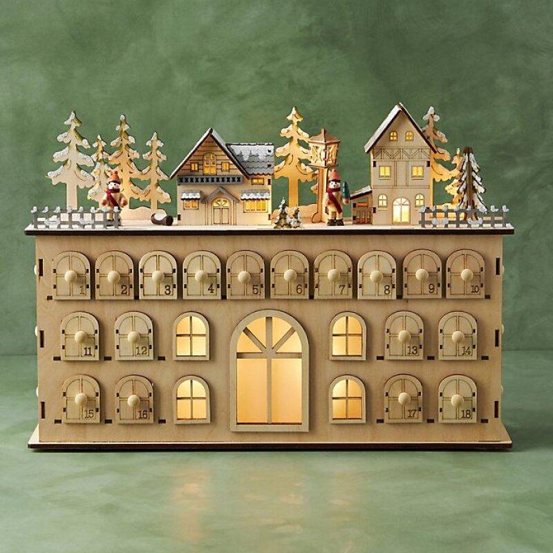 Chateau Light-Up Advent Calendar