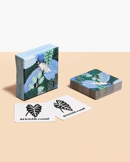 Ordinary Habit x Wild Hart Paper Learn Your Leaves Matching Cards