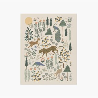 Rifle Paper Co. Menagerie Forest Art Print