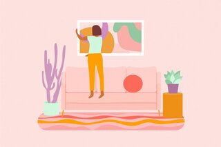 Dwell On This: Command the Room With a Statement Art Piece