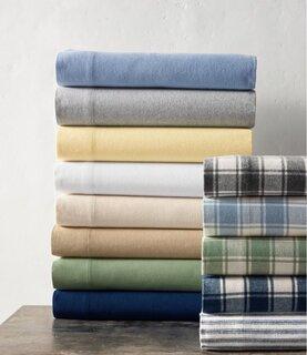 L.L.Bean Ultrasoft Comfort Flannel Sheet Set
