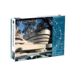 Galison Frank Lloyd Wright Guggenheim Double Sided 500 Piece Jigsaw Puzzle