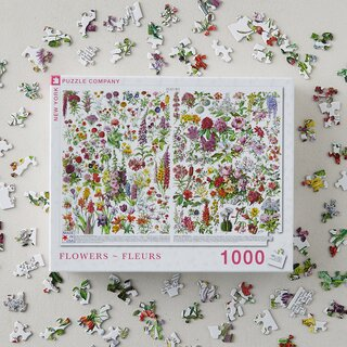 New York Puzzle Company Flowers Puzzle