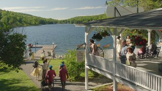"""The Lakeside Resort Featured in """"The Marvelous Mrs. Maisel"""" Lists for $6M in Upstate New York"""