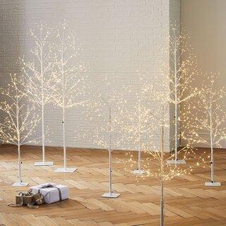 West Elm LED White Trees