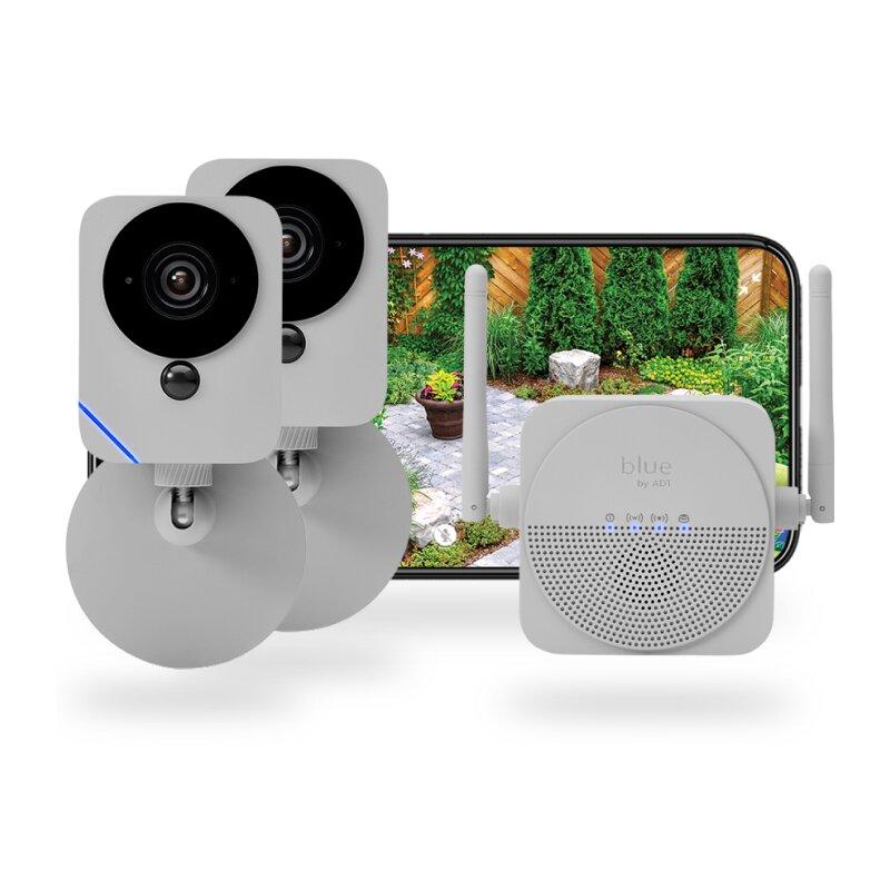 ADT Blue Wireless Outdoor Camera Kit