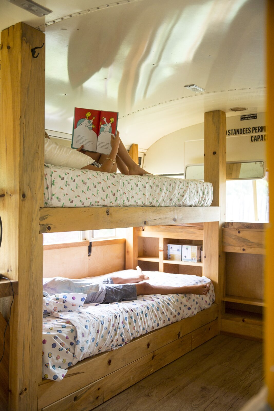 Photo 4 of 10 in These Legendary Surfers' Converted School Bus Connects to a Three-Story Tree House on Hawaii