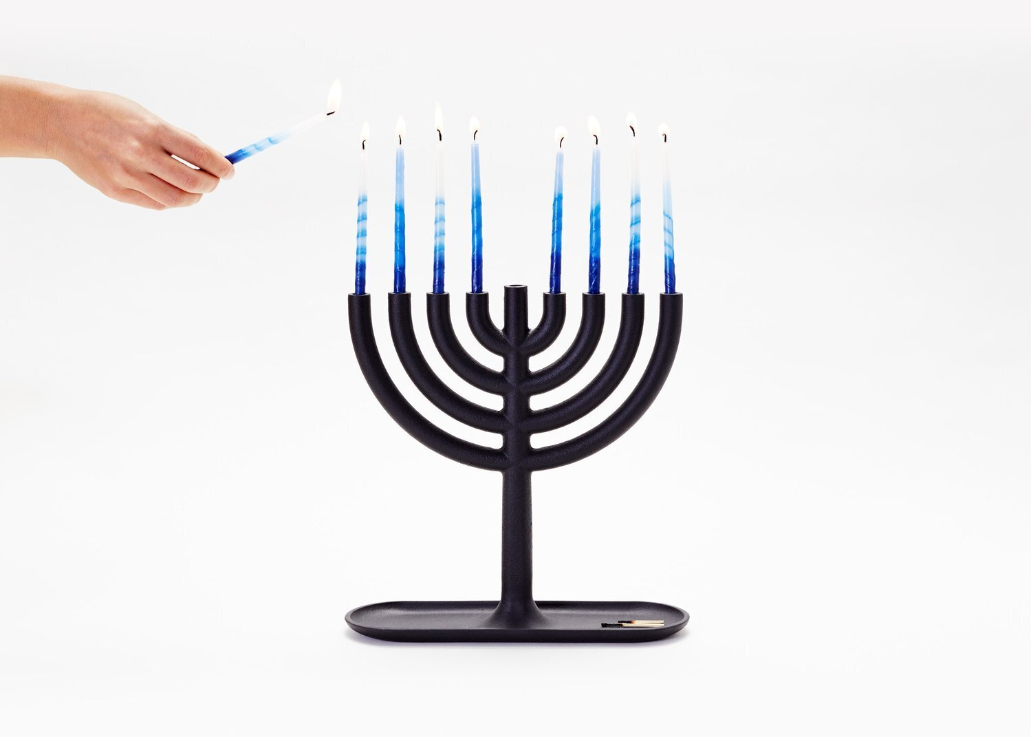Photo 1 of 1 in 9 Modern Menorahs to Illuminate the Holidays from Areaware Menorah