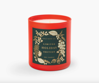 Rifle Paper Co. Holiday Candle