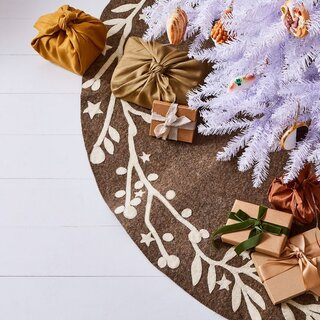 Arcadia Home Handmade Holiday Felt Tree Skirts
