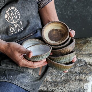 """MMclay The Progress Collection - 4"""" Dipping Bowl"""