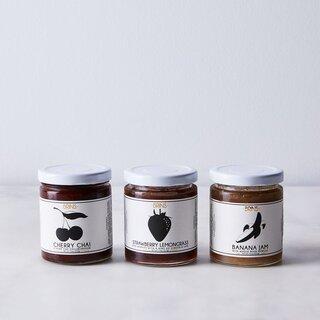 BRINS Jams & Marmalade Small Batch Sweet Jam (Set of 3)