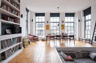 For £1.2M, Snag This Spacious London Flat Inside a Converted Victorian Schoolhouse