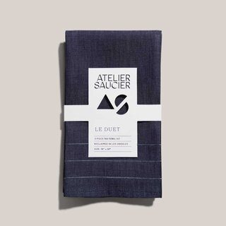 Atelier Saucier Le Duet 2-Piece Tea Towel Set