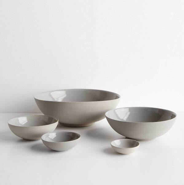 Marcy Sage Gray  Nesting Bowls Set of 5