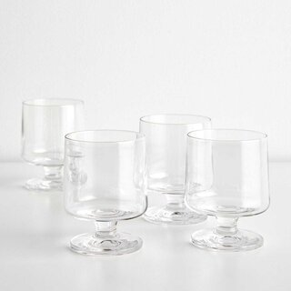 Stub Medium Stackable Glasses Set of 4