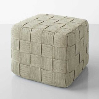 Cube Taupe Ottoman