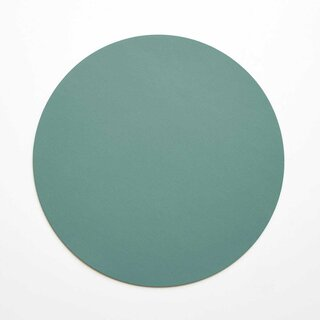 Dot Forest Round Leather Placemat